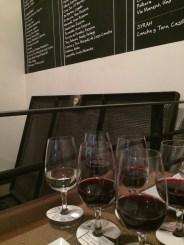 Great wine tasting at the 'BocaNariz Wine Bar'