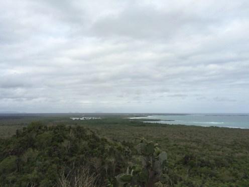 A birdseye view of Isabela island