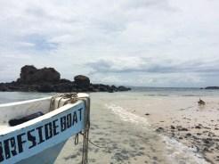 Our ride to 'Isla Granito de Oro'