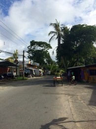 This is Puerto Viejo's main street. Yup, don't come here looking for 5-star resorts!