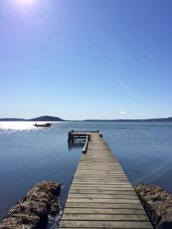Lake Rotorua is the country's second largest mass of water