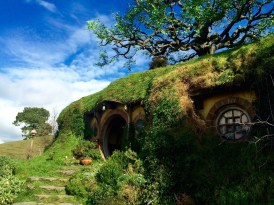 Bilbo Baggins and Frodo's hole at Bag End