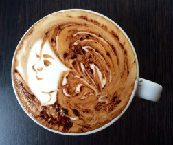 Latte art is taken very seriously here
