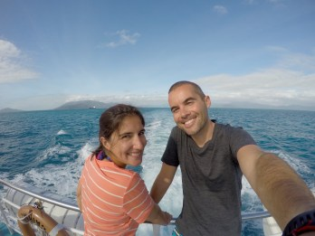On our way to the great barrier!