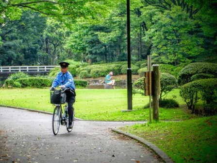 Bicycles are sadly no longer a common sight in Tokyo