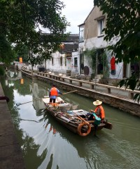 Another view of the beautiful canals in Suzhou