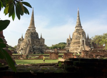"""Other Ayutthaya classics include Wat Phra Si Sanphet (""""Temple of the Holy, Splendid Omniscient"""")..."""