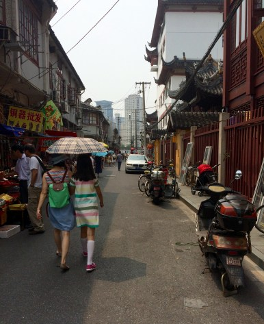 Not all of Shanghai has been transformed into big avenues though. There are still plenty of traditional neighbourhoods