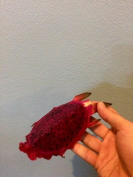 Dragon fruit! Missing it already