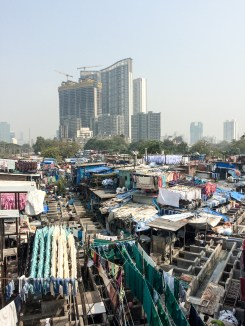 The Dhobi Ghat is an open air laundry