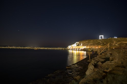 Harbour in Chora, Naxos (16mm, 20s, f2, ISO 200)