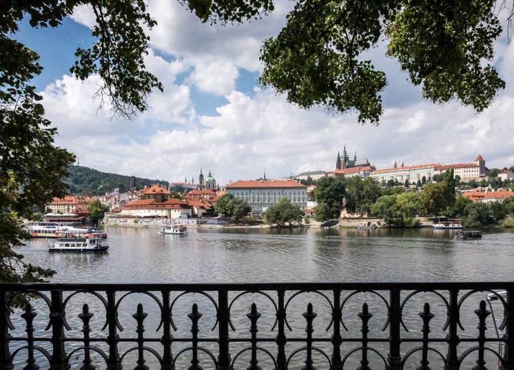 View over the Vltava river, Prague (16mm, 1/420s, f8, ISO 200)