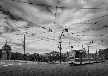 In front of the Dancing House, Prague (16mm, 1/450s, f8, ISO 200)