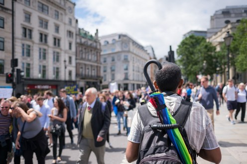 March against Brexit, London, UK (16mm, 1/8000s, f1.4, ISO 200)
