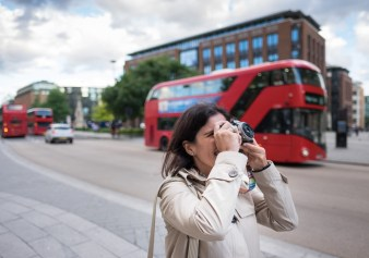 Jules in London, UK (16mm, 1/950s, f1.4, ISO 200)