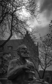 Charles Buls statue (Brussels, Belgium)