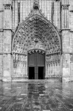 Batalha's Monastery main entrance, Batalha, Portugal