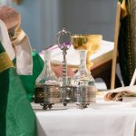 Priest with Chalices