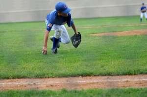 Baseball outfielder