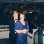 At Clinton Inauguration
