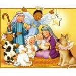 Clip art nativity scene