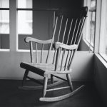 Rocking chair at