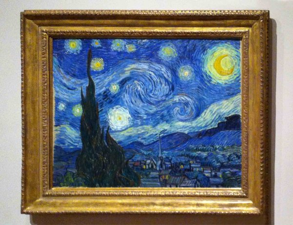 Van Gogh' Starry Night Moma York City