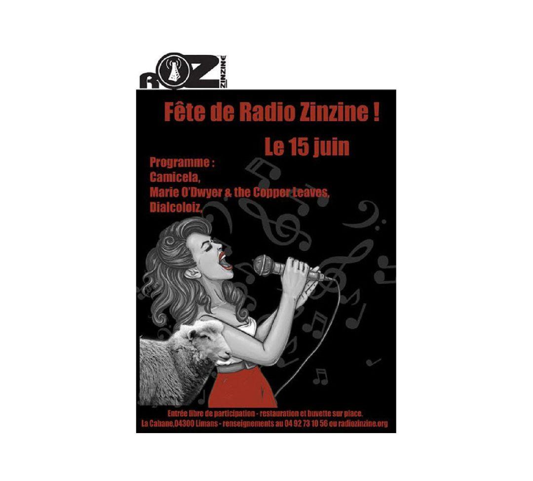 Affiche Radio Zinzine