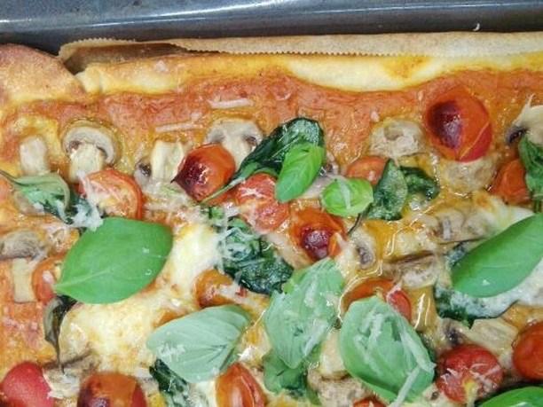 Bolo da Caneca - Menu semanal pizza