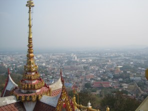 Overlooking the Capital of Nakon Sawan