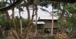 A Traditional Cambodian House in the Countryside
