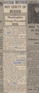 Anthea newspaper clipping