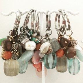 Julia Bristow Jewelry Gemstone Keychains