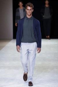 Giorgio Armani Menswear Collection Spring Summer 2015 in Milan