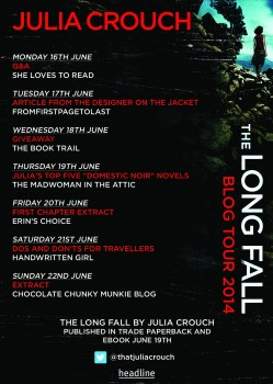 Julia Crouch blog tour poster