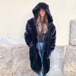 """THE """"NOTTE"""" *FUR FREE CARDI COAT WITH RECYCLED DOWN POCKETS"""