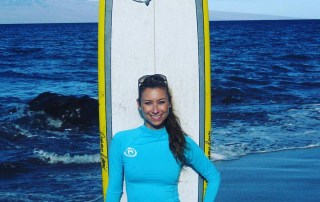 women's surf camp Maui Hawaii