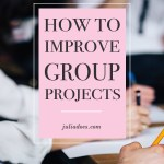 Tips for Group Projects
