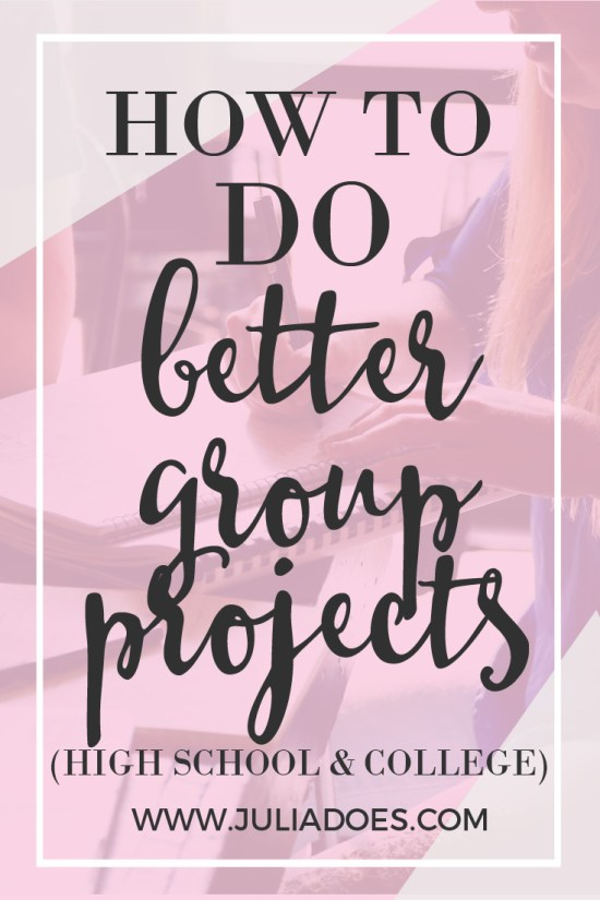 Do Better Group Projects With These Tips