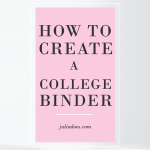 Here are 6 Things You Should Have in Your College Binder