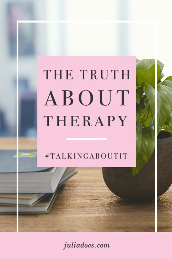 My Thoughts on Therapy