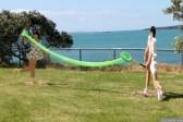NZ Sculpture OnShore Nov 2012 (48) Bev Goodwin 'Le Jeux: Deuce'