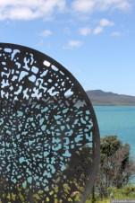 NZ Sculpture OnShore Nov 2012 (59) Maurice Van Cooten 'Deep Dish – Augmented Reality Sculpture'