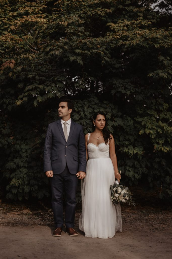 Montreal botanical garden wedding
