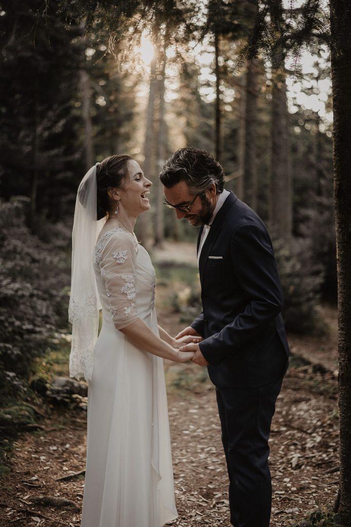 Forest Wedding Tremblant