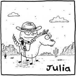 Julia – Illustration et Bande Dessinée