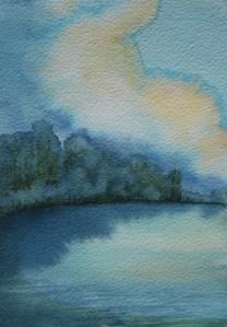 Burntside Lake by Julia Jaakola