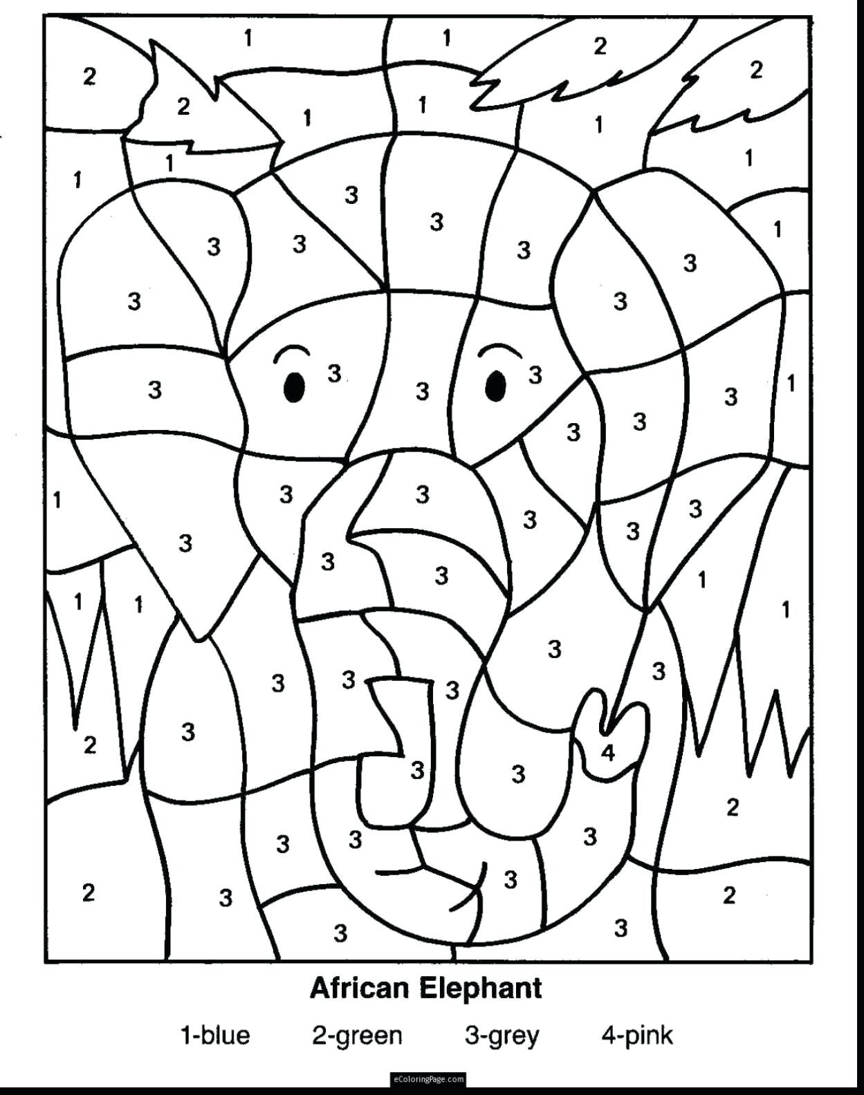 Equivalent Fractions Coloring Worksheet
