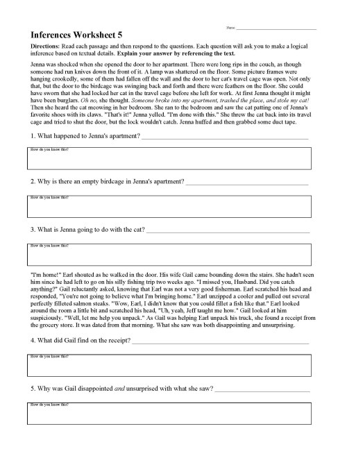 small resolution of Drawing Conclusions Worksheets Grade 2   Printable Worksheets and  Activities for Teachers