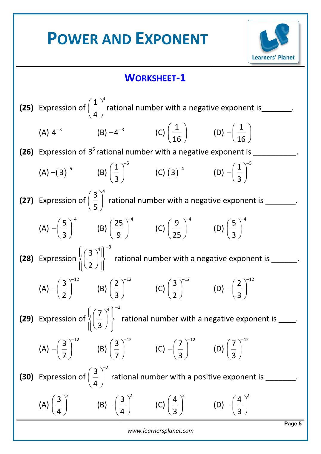 10th Grade Vocabulary Worksheets